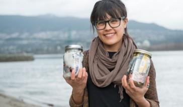 Trash in Jars - Plastic free